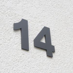 Hausnummer Einzeln